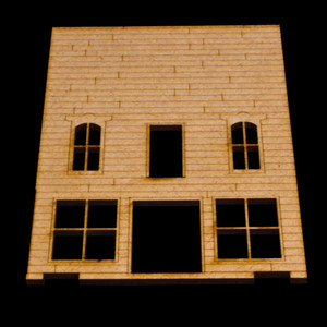 Old West Two Story with balcony and upstaris door - 15MWEST009