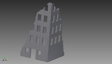 Ruined City Building - 20MMDF250