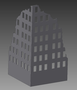 Ruined City Building - 28MMDF002-1