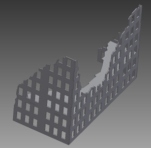 Ruined City Building - 28MMDF003-1