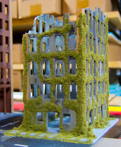 Ruined City Building (Wood) - 10MMDF005
