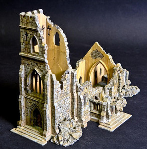 The Church Of St. Looney, Ruined Version
