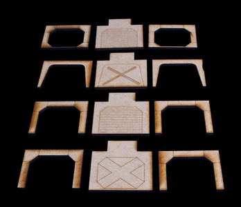 Doors and Arches (18 Sets) - SPACE224