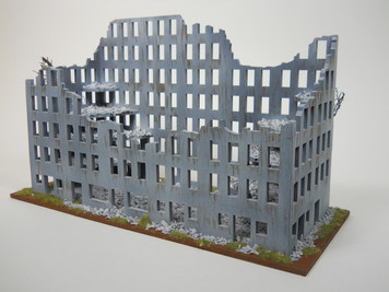 Ruined City Building (MDF) - 15MMDF267