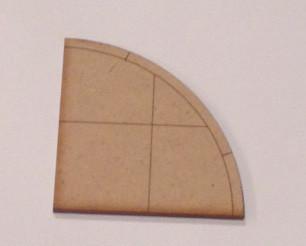 Sidewalk Corner Piece - 28MROAD013
