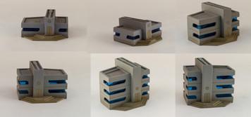 6mm Ultra Modern / Future City Buildings (6) - 285CSS052