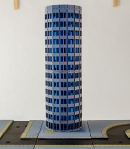 6mm Modern / Future Round City Building 285CSS053