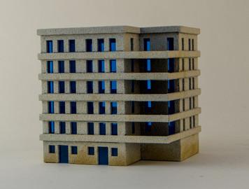 6mm Large Apartment Block (Matboard) - 285CSS152