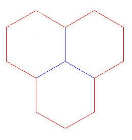 "Hex Bases, Triple Hex - (1.75"")"