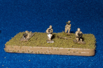 6mm (1/285th) Micro Armor Infantry Base - 285AAG002