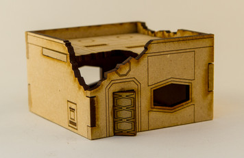 One Story Building - 15MCHM003-D