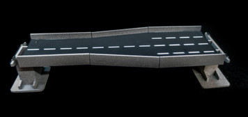 """6"""" Straight Transition Section, 2 Lane to 4 Lane - 285ROAD161-1"""