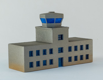 6mm Airport Terminal with Control Tower (Acrylic) - 285ACR161