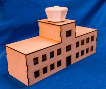20mm Airport Terminal Building with Control Tower - 20MMDF167