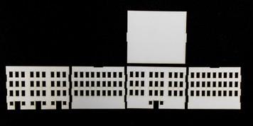 10mm City Building (Matboard) - 10MCSS009