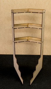 Corner Paint Rack Shelf - SHELF3