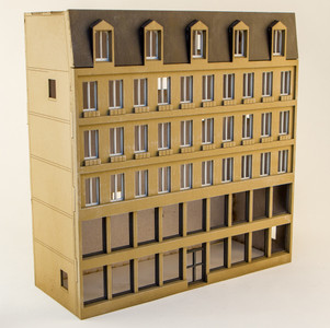 15mm European City Building (Matboard) - 15MCSS122
