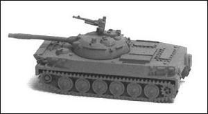 Chinese Type 63 light tank (copy of soviet PT-76) - RC03