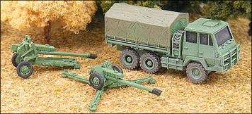 122mm Howitzer with SX190-7 prime mover - RC16