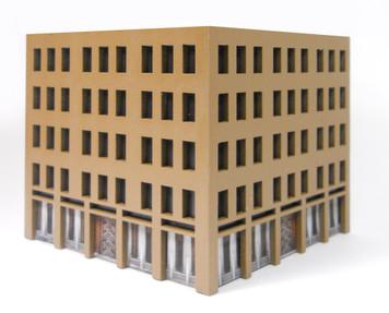 10mm City Building (MatBoard) - 10MCSS025-1