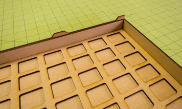 Tank Transport - 25mm x 32mm (FoW) With MDF Insert