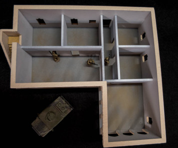 Optional Interior Wall & Base Kit for 20MMDF170 (MDF) - 20MMDF170-1