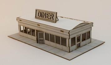 15mm Roadside Diner - 15MCSS271