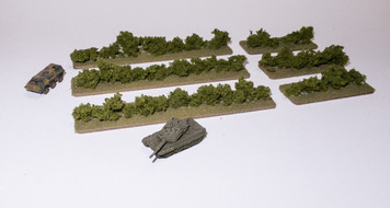 Hedge Rows (6 pcs) - 285HEDG02