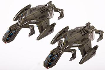 Dropzone Commander: UCM Raven Type B Light Dropships