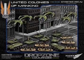 Dropzone Commander: UCM Plastic Starter Army