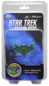 Star Trek Attack Wing: Wave 01 Romulan I.R.W. Praetus Expansion Pack