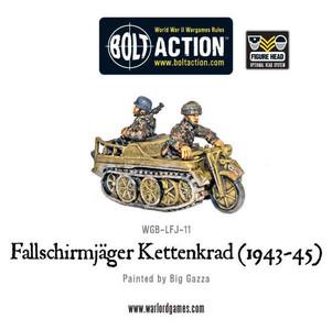 Bolt Action: Fallschirmjager Kettenkrad 1943-45