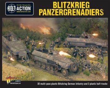 Bolt Action: Blitzkrieg Panzergrenadiers (30 plus 3 Hanomags)