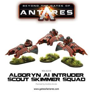 Algoryn AI Intruder scout skimmer squad