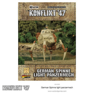 Konflikt '47 German Spinne Light Panzermech