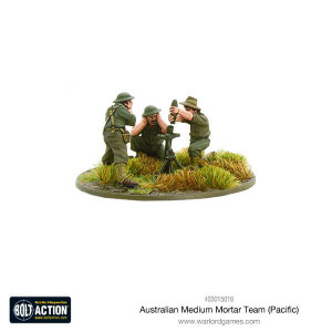 Bolt Action: Australian Medium Mortar Team
