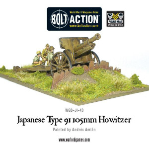 Bolt Action: Imperial Japanese Type 91 105mm Howitzer