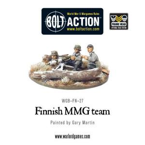 Bolt Action: Finnish MMG team