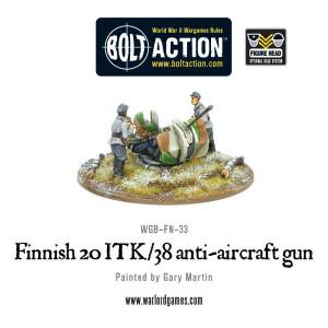 Bolt Action: Finnish ITK/38 Anti-Aircraft Gun