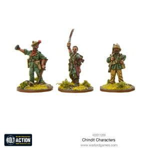 Bolt Action: Chindit Characters
