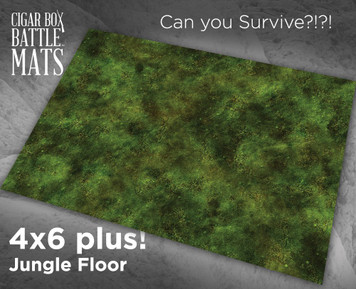 Battle Mat - Jungle Floor (Plush)