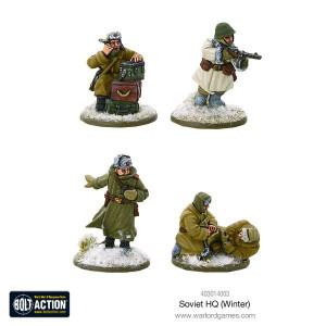 Bolt Action: Soviet HQ (Winter)