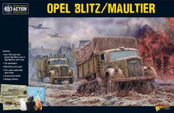 Bolt Action: Opal Blitz/Maultier