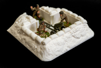 Gun/Mortar Position Trench Section (28mm Scale)