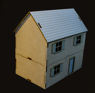 28mm Two Story Country Home - 28MMDF554