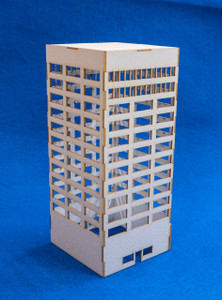 6mm Modern / Future City Building - 285CSS073