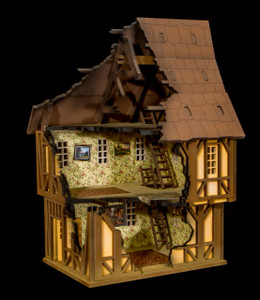 28mm Tudor House - 28MMDF620