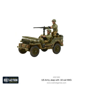 Bolt Action: US Jeep with 50 Cal HMG