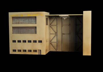 Mech Hangar / Shop (MatBoard) - 285CSS061