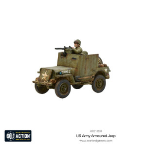 Bolt Action: US Armored Jeep